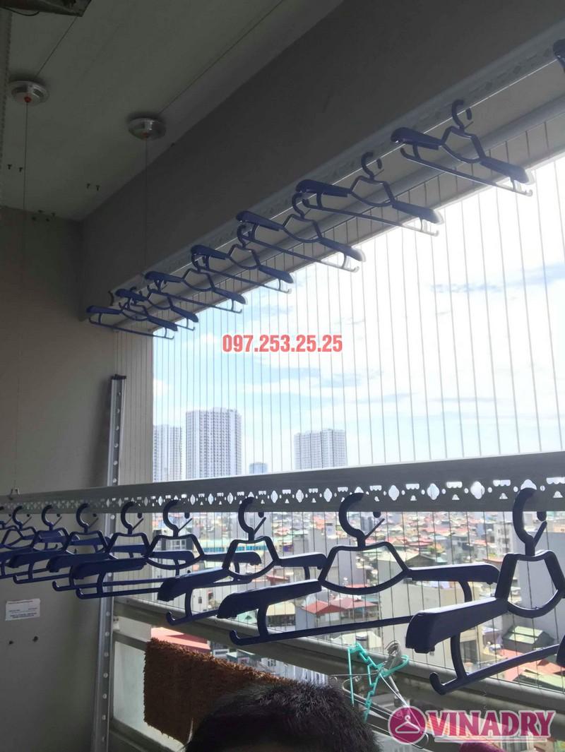 Lắp giàn phơi Hòa Phát nhà chị Thiện, tòa 24T, 85 Vũ Trọng Phụng, Thanh Xuân, Hà Nội - 05