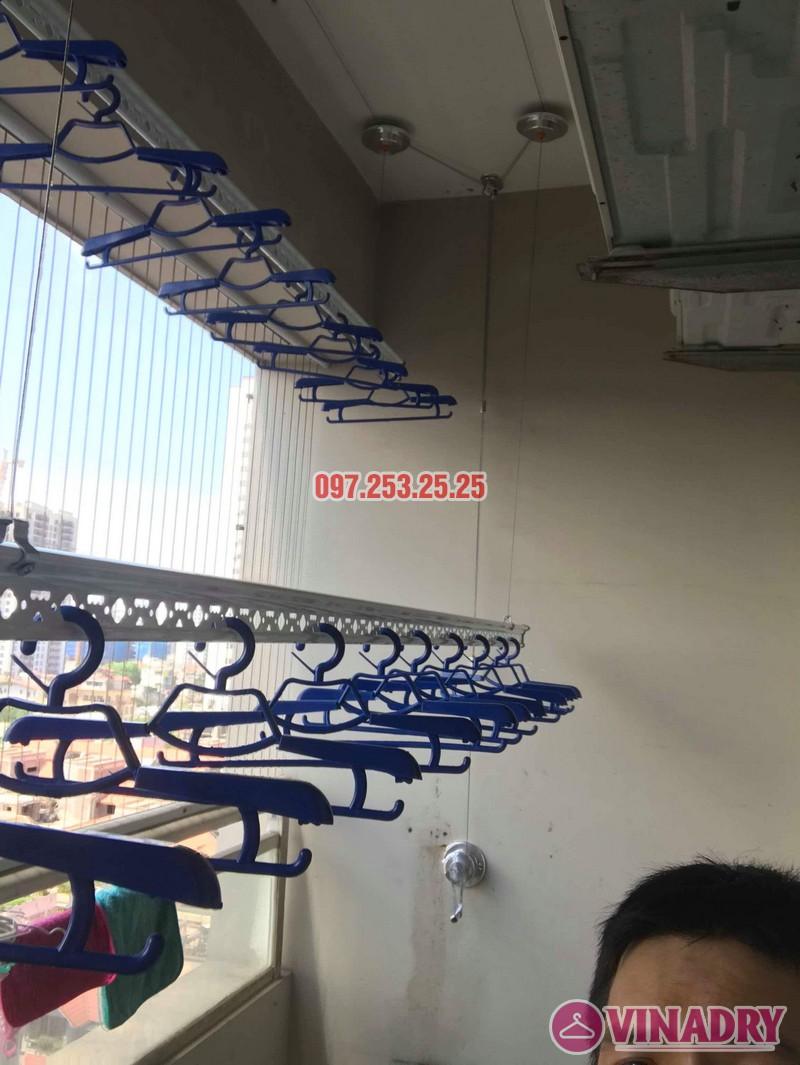Lắp giàn phơi Hòa Phát nhà chị Thiện, tòa 24T, 85 Vũ Trọng Phụng, Thanh Xuân, Hà Nội - 06