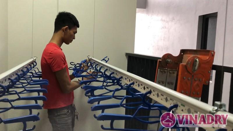 Lắp giàn phơi thông minh tại Nam Định giá rẻ