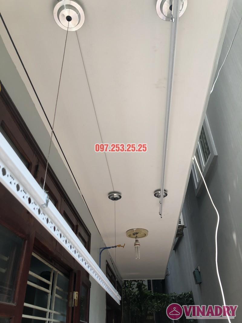 Lắp giàn phơi Đống Đa giá rẻ nhà anh Đại, ngõ 580 Trường Trinh - 02