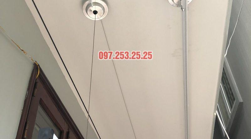 Lắp giàn phơi Đống Đa giá rẻ nhà anh Đại, ngõ 580 Trường Trinh - 04
