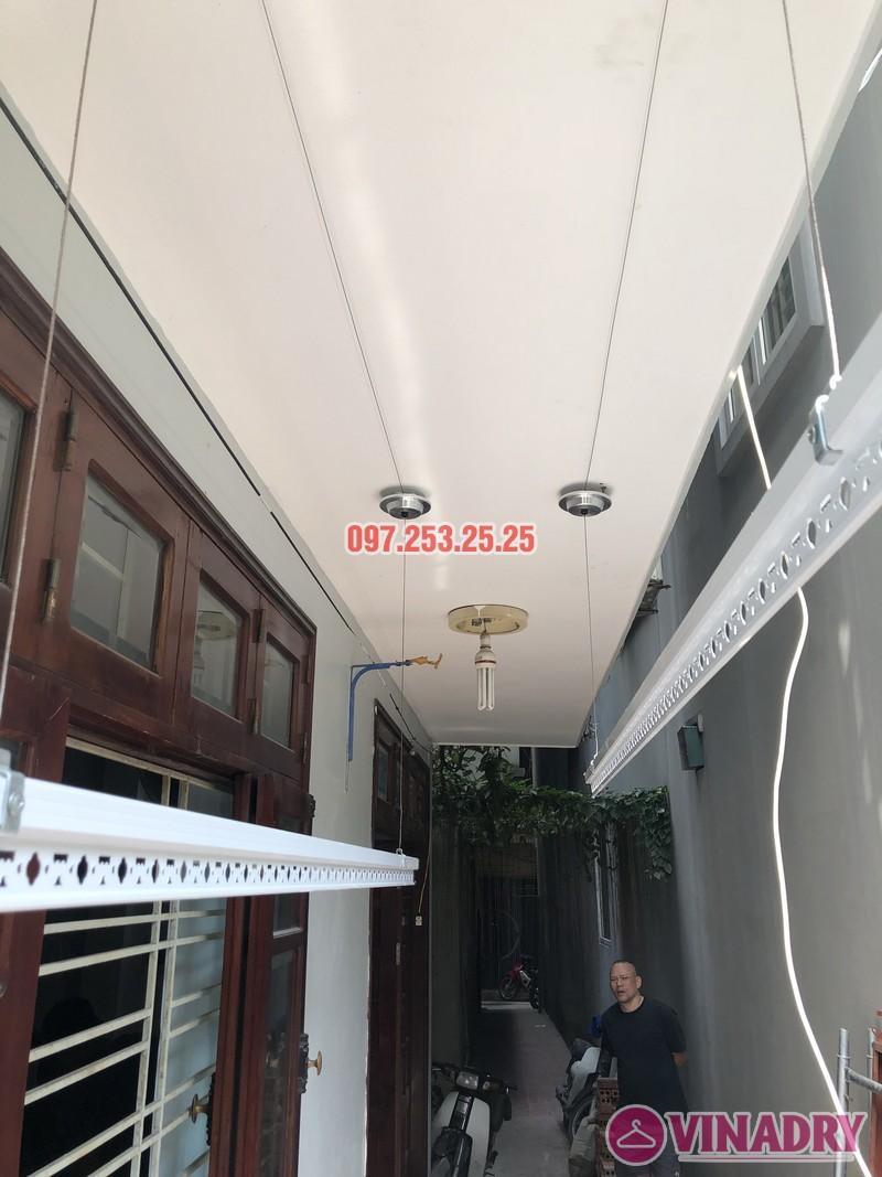 Lắp giàn phơi Đống Đa giá rẻ nhà anh Đại, ngõ 580 Trường Trinh - 05