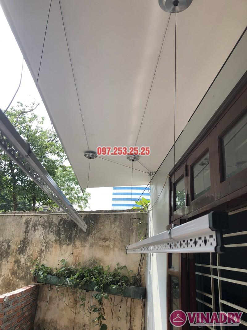 Lắp giàn phơi Đống Đa giá rẻ nhà anh Đại, ngõ 580 Trường Trinh - 06