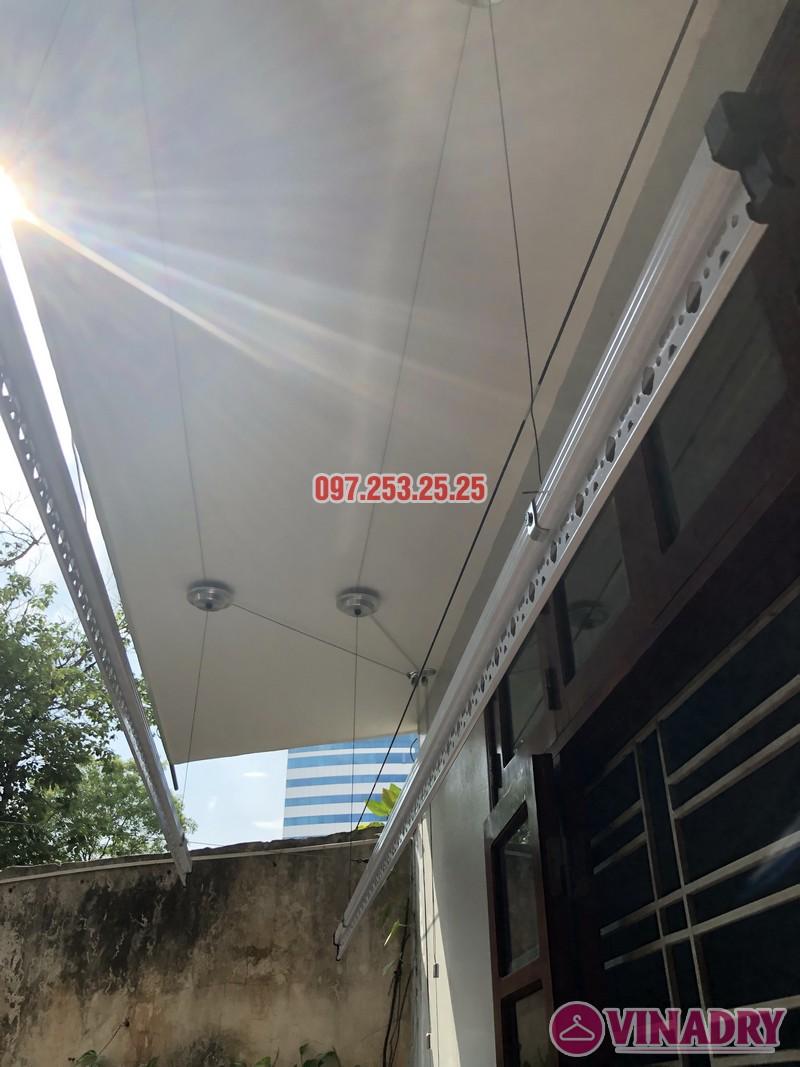 Lắp giàn phơi Đống Đa giá rẻ nhà anh Đại, ngõ 580 Trường Trinh - 07