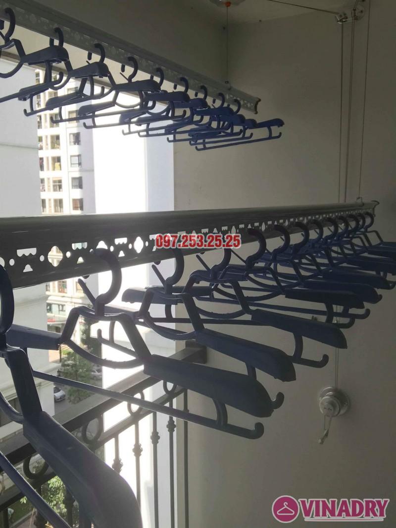 Lắp đặt giàn phơi thông minh tại Times City nhà chị Nhung, tòa T7 - 06