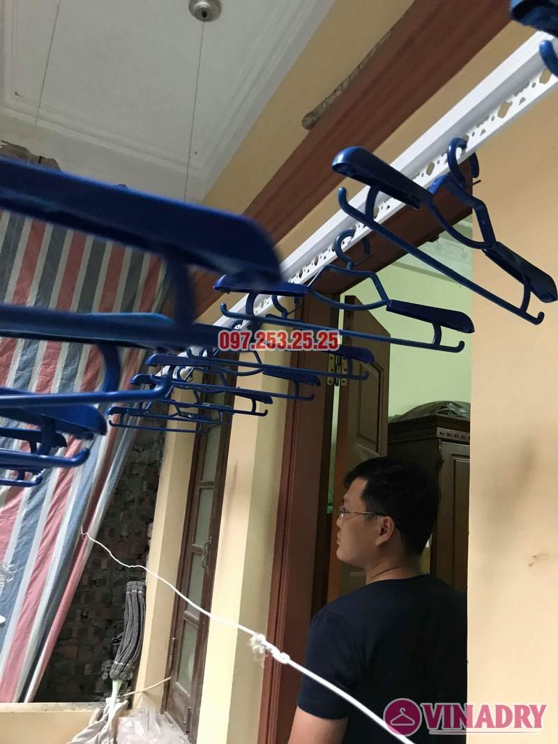 Lắp đặt giàn phơi thông minh Đống Đa nhà anh Thăng ngõ 19 Trần Quang Diệu - 02