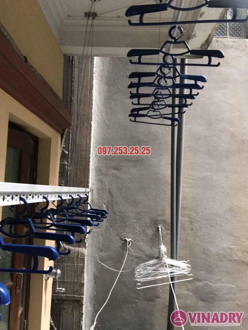 Lắp đặt giàn phơi thông minh Đống Đa nhà anh Thăng ngõ 19 Trần Quang Diệu - 04