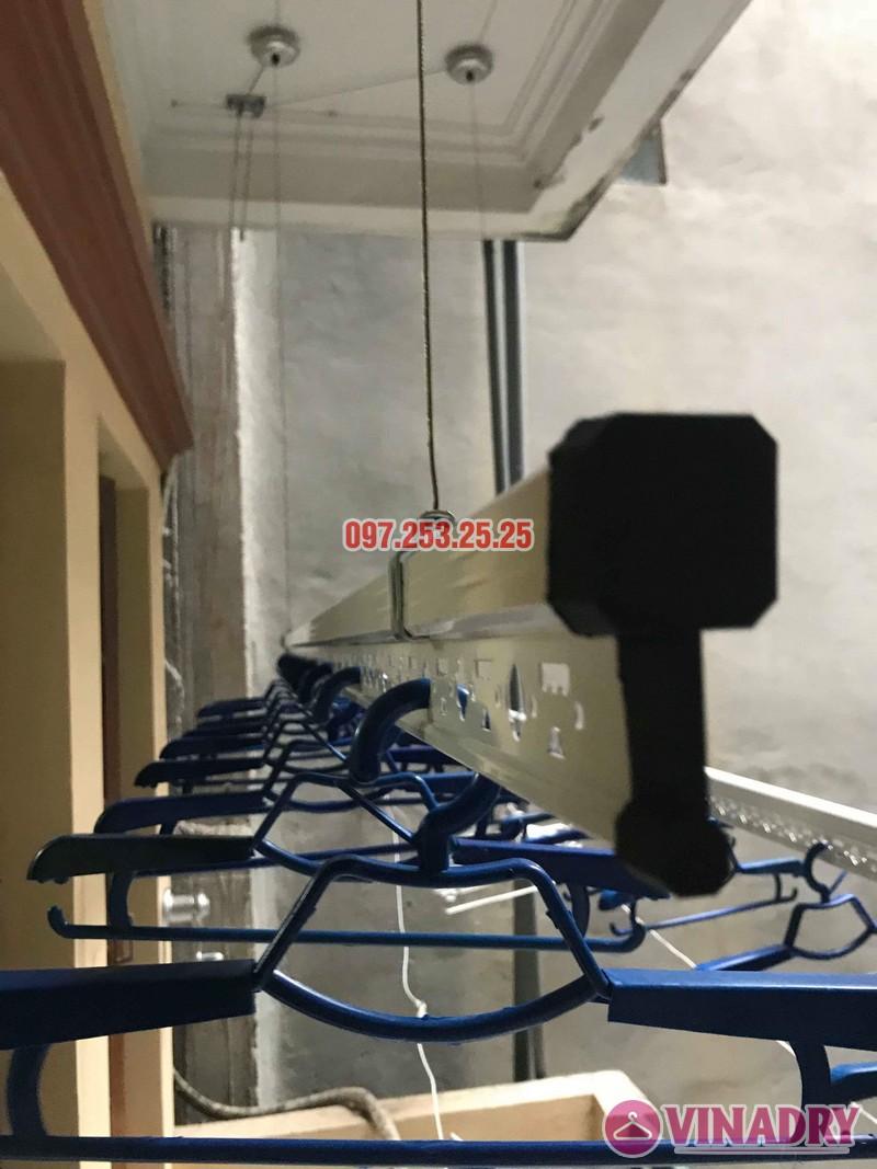 Lắp đặt giàn phơi thông minh Đống Đa nhà anh Thăng ngõ 19 Trần Quang Diệu - 06