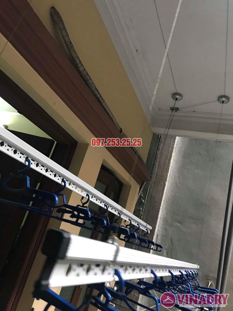 Lắp đặt giàn phơi thông minh Đống Đa nhà anh Thăng ngõ 19 Trần Quang Diệu - 07