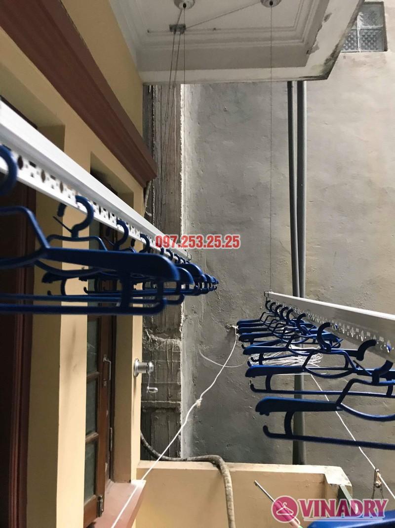 Lắp đặt giàn phơi thông minh Đống Đa nhà anh Thăng ngõ 19 Trần Quang Diệu - 08