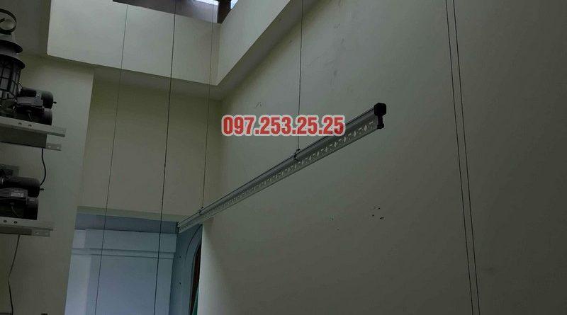 Lắp giàn phơi thông minh Hòa Phát nhà chị Thương, chung cư Vincom Center Long Biên, Hà Nội - 05