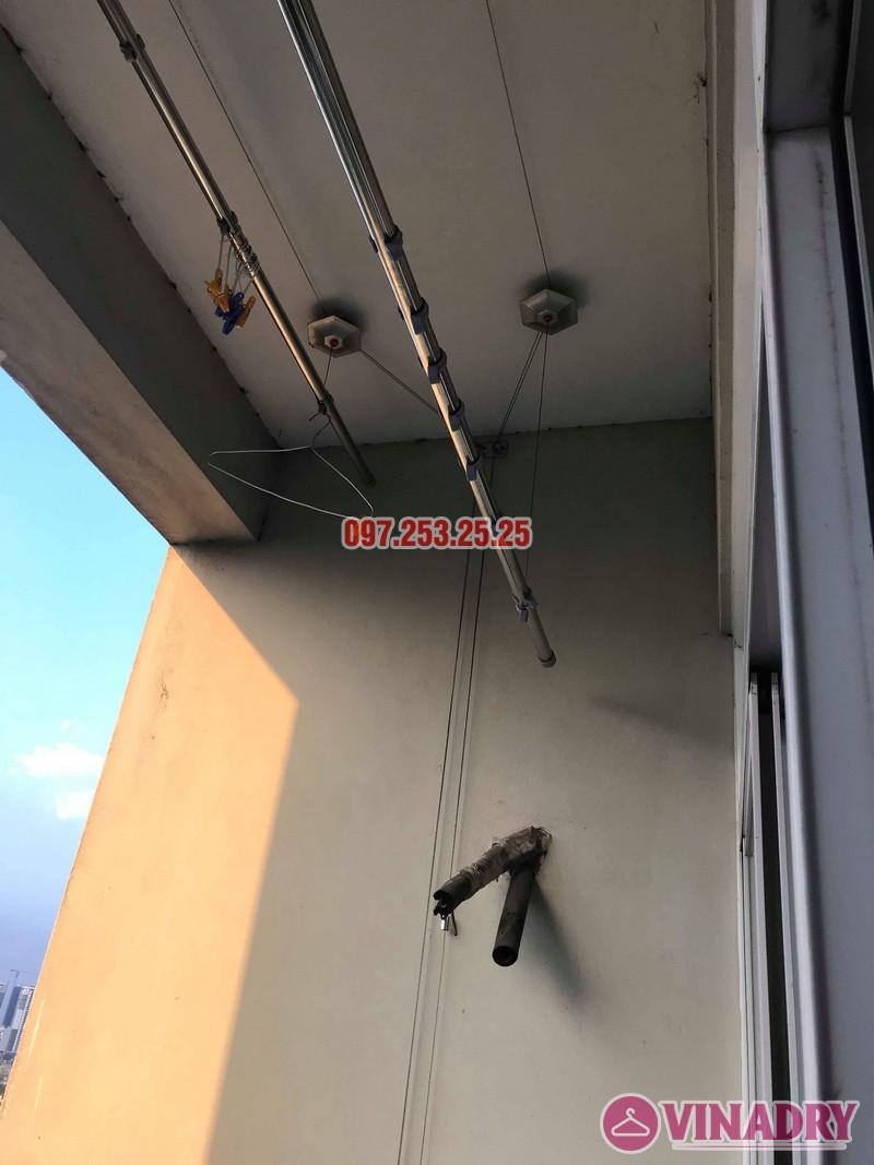 Sửa giàn phơi giá rẻ tại Hà Nội nhà chị Thim, chung cư An Lạc, Phùng Khoang, Nam Từ Liêm - 01