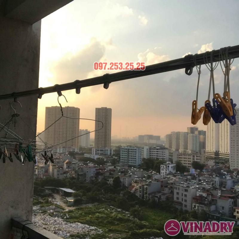 Sửa giàn phơi giá rẻ tại Hà Nội nhà chị Thim, chung cư An Lạc, Phùng Khoang, Nam Từ Liêm - 03