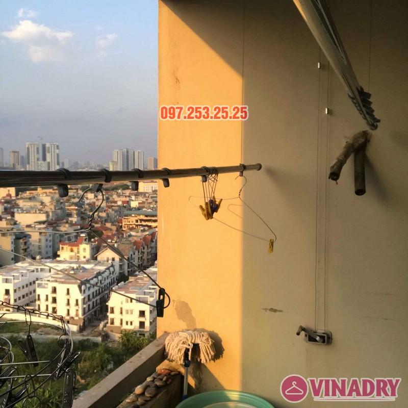 Sửa giàn phơi giá rẻ tại Hà Nội nhà chị Thim, chung cư An Lạc, Phùng Khoang, Nam Từ Liêm - 04