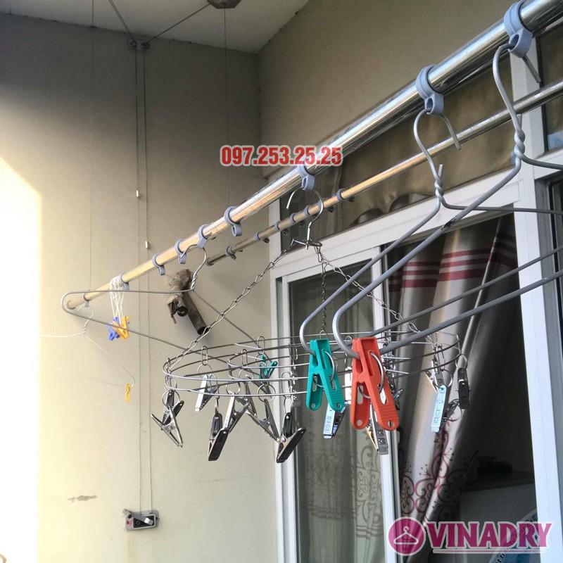 Sửa giàn phơi giá rẻ tại Hà Nội nhà chị Thim, chung cư An Lạc, Phùng Khoang, Nam Từ Liêm - 05