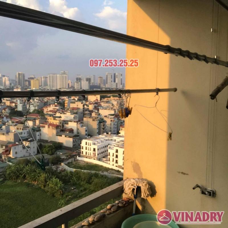 Sửa giàn phơi giá rẻ tại Hà Nội nhà chị Thim, chung cư An Lạc, Phùng Khoang, Nam Từ Liêm - 07