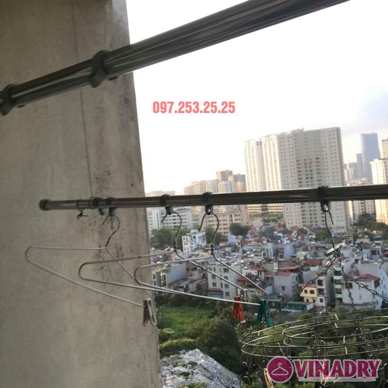 Sửa giàn phơi giá rẻ tại Hà Nội nhà chị Thim, chung cư An Lạc, Phùng Khoang, Nam Từ Liêm - 08