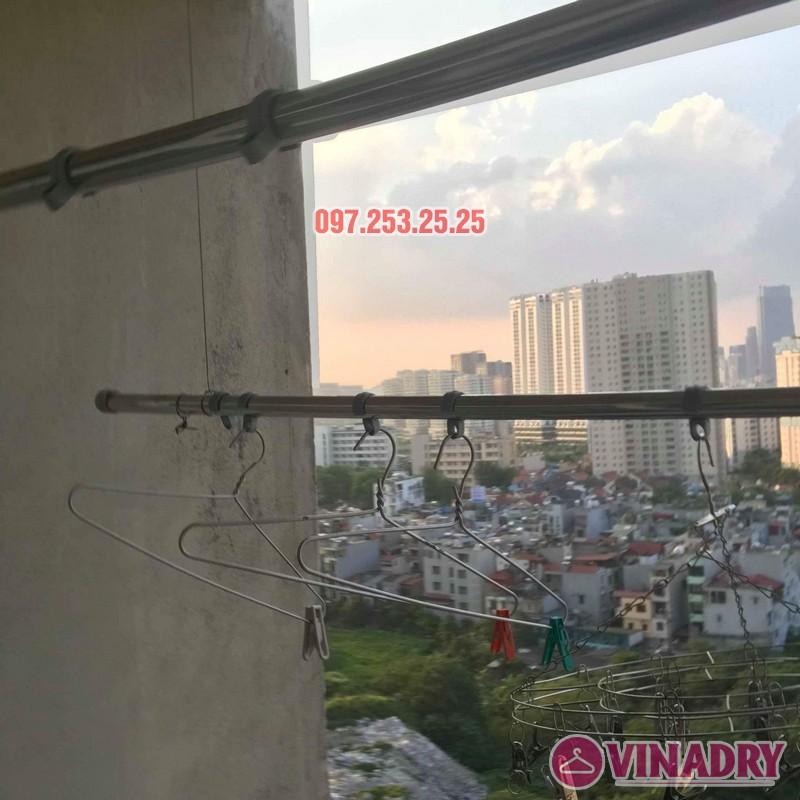 Sửa giàn phơi giá rẻ tại Hà Nội nhà chị Thim, chung cư An Lạc, Phùng Khoang, Nam Từ Liêm - 09