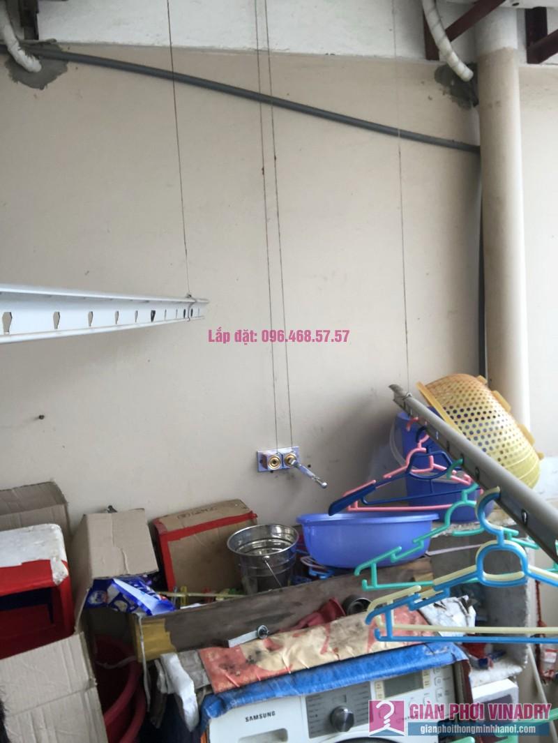 Sửa giàn phơi thông minh nhà chị Minh, căn 2209, tòa HH2 Bắc Hà, Thanh Xuân, Hà Nội - 01