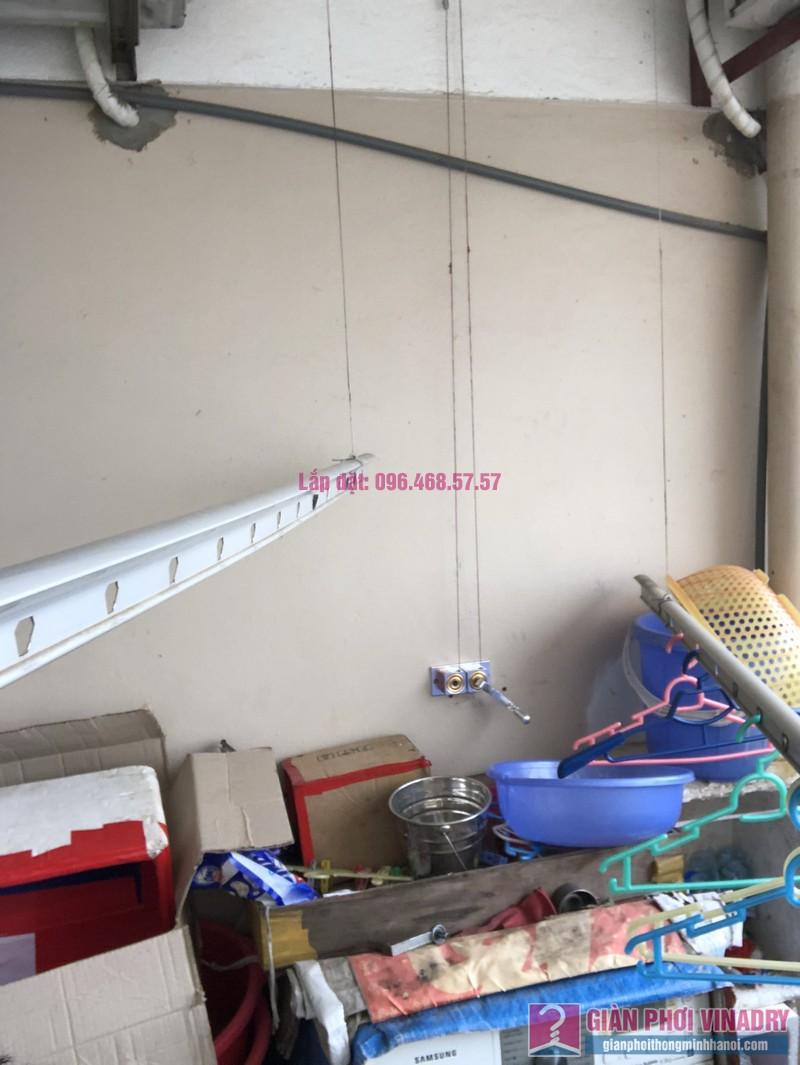 Sửa giàn phơi thông minh nhà chị Minh, căn 2209, tòa HH2 Bắc Hà, Thanh Xuân, Hà Nội - 02