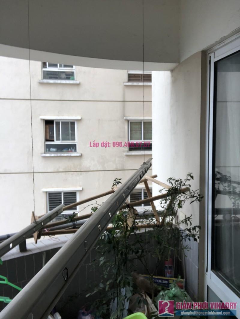 Sửa giàn phơi thông minh nhà chị Minh, căn 2209, tòa HH2 Bắc Hà, Thanh Xuân, Hà Nội - 03