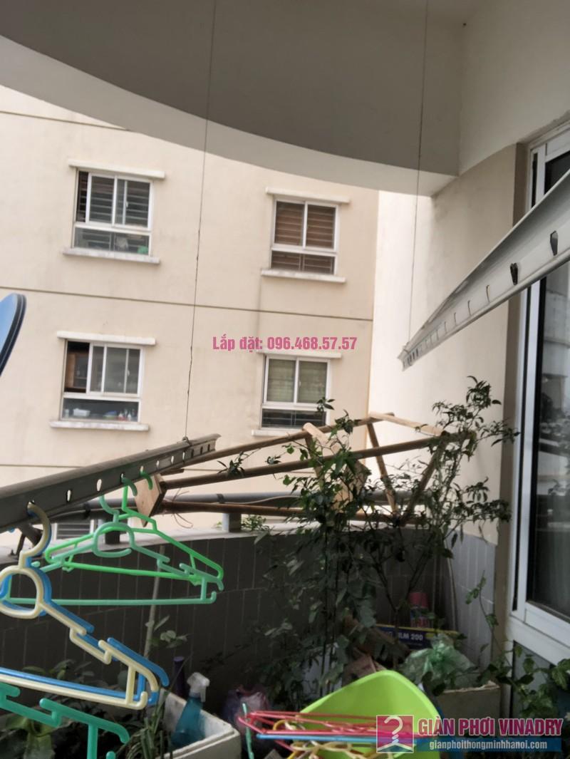 Sửa giàn phơi thông minh nhà chị Minh, căn 2209, tòa HH2 Bắc Hà, Thanh Xuân, Hà Nội - 04