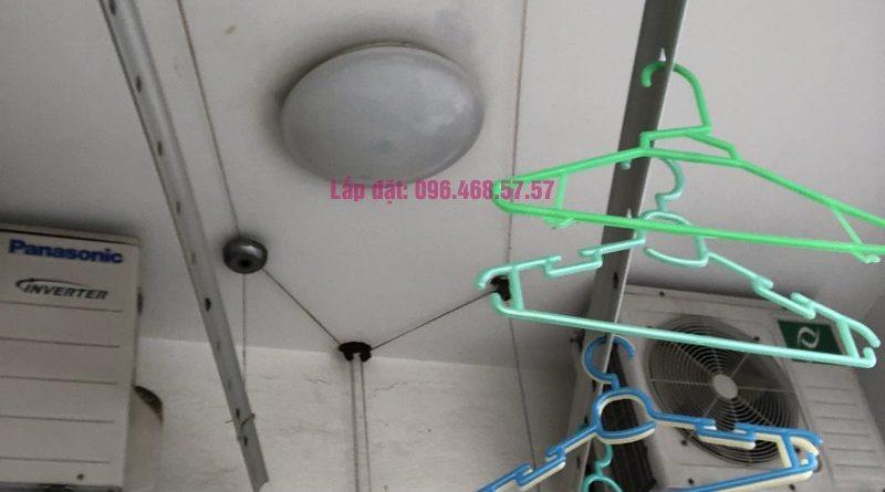 Sửa giàn phơi thông minh nhà chị Minh, căn 2209, tòa HH2 Bắc Hà, Thanh Xuân, Hà Nội - 05