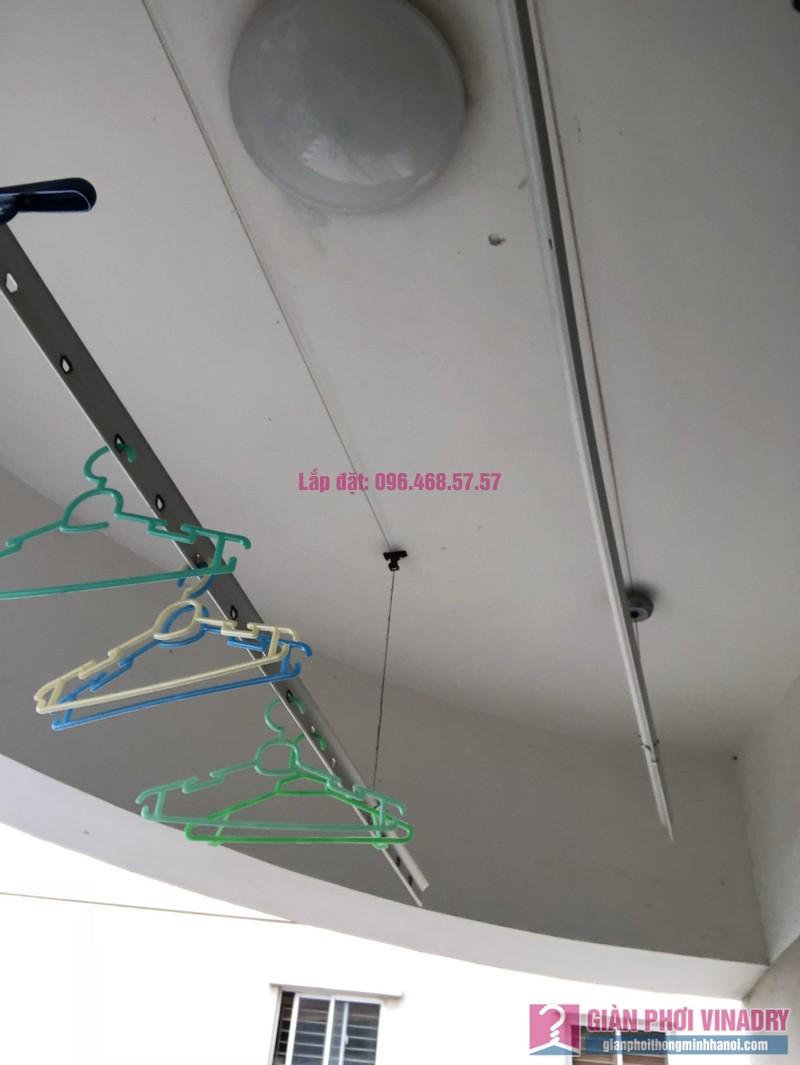 Sửa giàn phơi thông minh nhà chị Minh, căn 2209, tòa HH2 Bắc Hà, Thanh Xuân, Hà Nội - 07