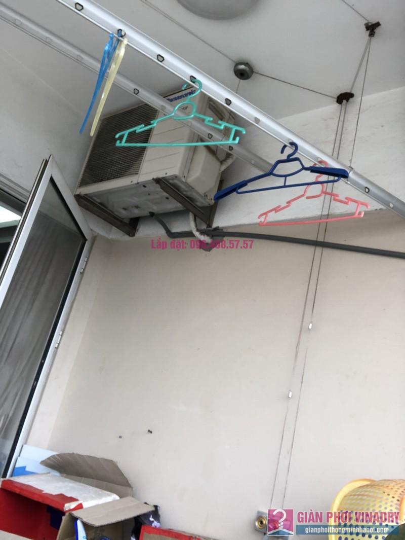Sửa giàn phơi thông minh nhà chị Minh, căn 2209, tòa HH2 Bắc Hà, Thanh Xuân, Hà Nội - 10