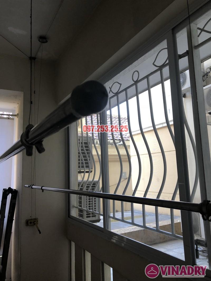 Sửa giàn phơi thông minh giá rẻ nhà anh Kiểm, căn 102, Tòa G03 Ciputra, Tây Hồ, Hà Nội - 01