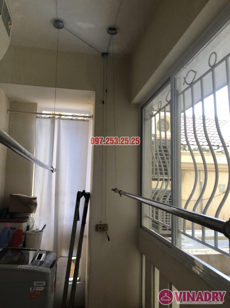 Sửa giàn phơi thông minh giá rẻ nhà anh Kiểm, căn 102, Tòa G03 Ciputra, Tây Hồ, Hà Nội - 02