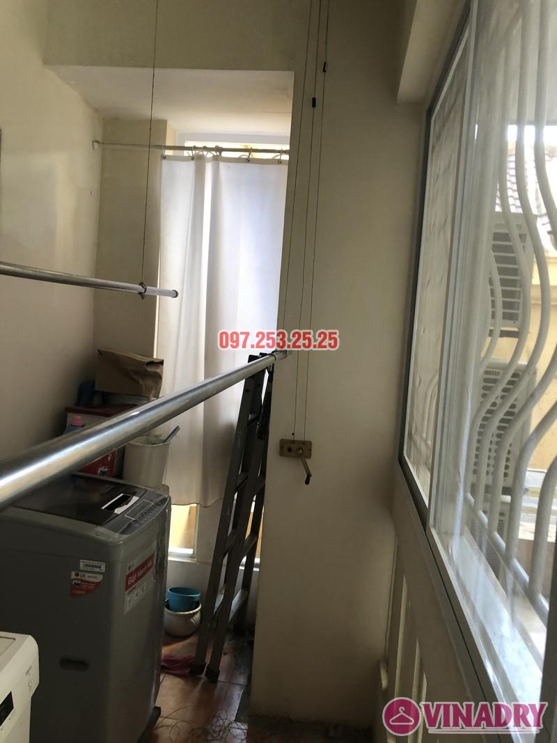 Sửa giàn phơi thông minh giá rẻ nhà anh Kiểm, căn 102, Tòa G03 Ciputra, Tây Hồ, Hà Nội - 08
