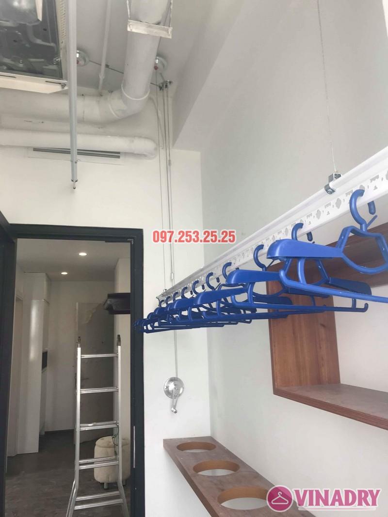 Lắp giàn phơi tại Từ Liêm bộ giàn phơi Hòa Phát 701 nhà chị Thảo, chung cư Ecohome 1 - 01