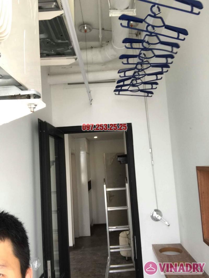 Lắp giàn phơi tại Từ Liêm bộ giàn phơi Hòa Phát 701 nhà chị Thảo, chung cư Ecohome 1 - 03