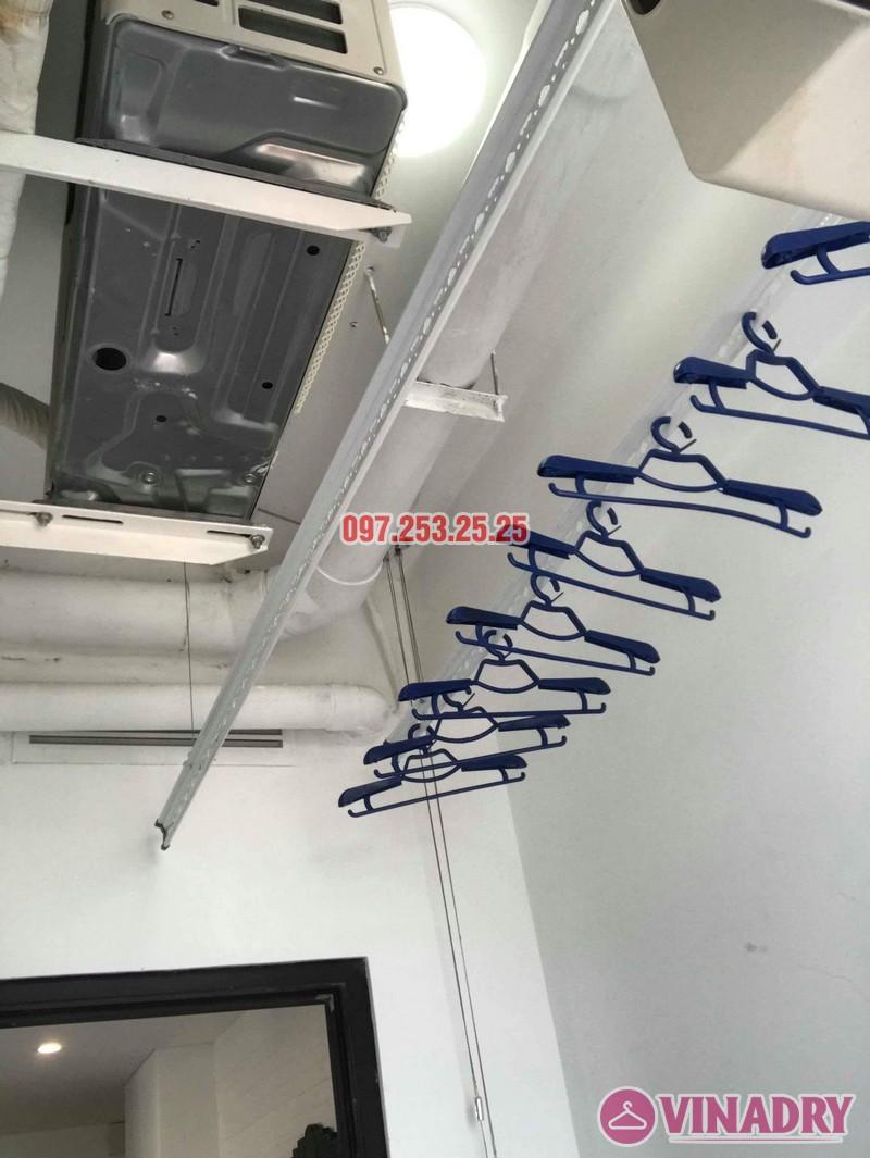 Lắp giàn phơi tại Từ Liêm bộ giàn phơi Hòa Phát 701 nhà chị Thảo, chung cư Ecohome 1 - 04
