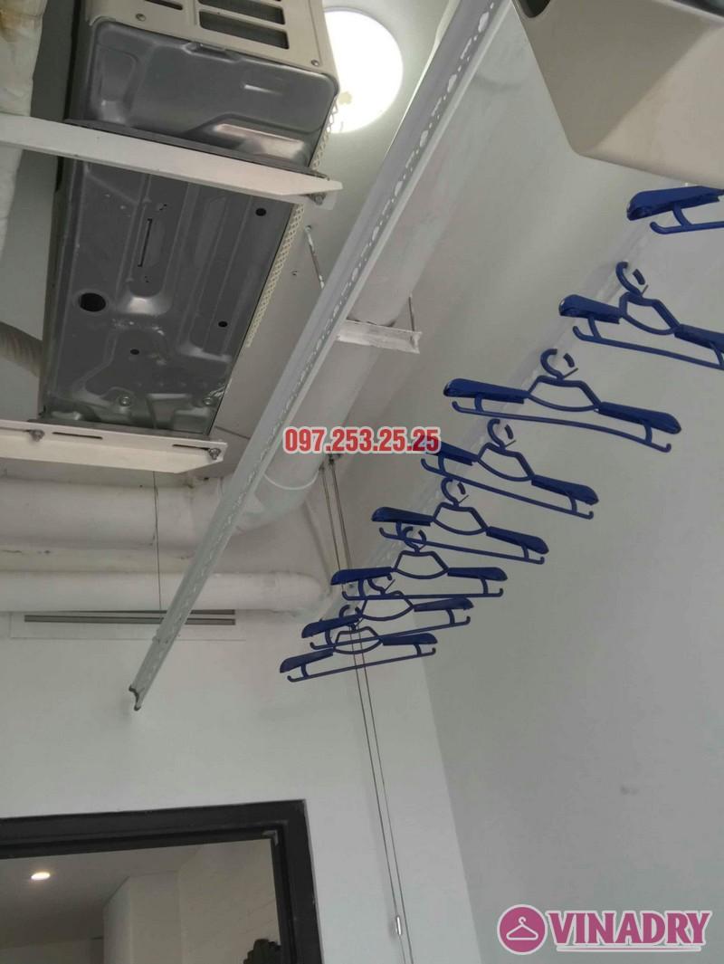 Lắp giàn phơi tại Từ Liêm bộ giàn phơi Hòa Phát 701 nhà chị Thảo, chung cư Ecohome 1 - 07