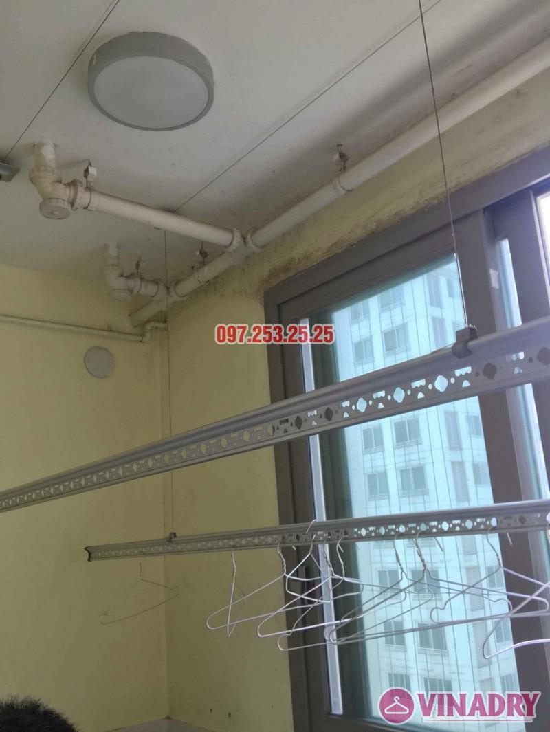 Sửa giàn phơi thông minh nhập khẩu nhà chị Hồng, CT5 Huyndai Hillstate, Hà Đông, Hà Nội - 01