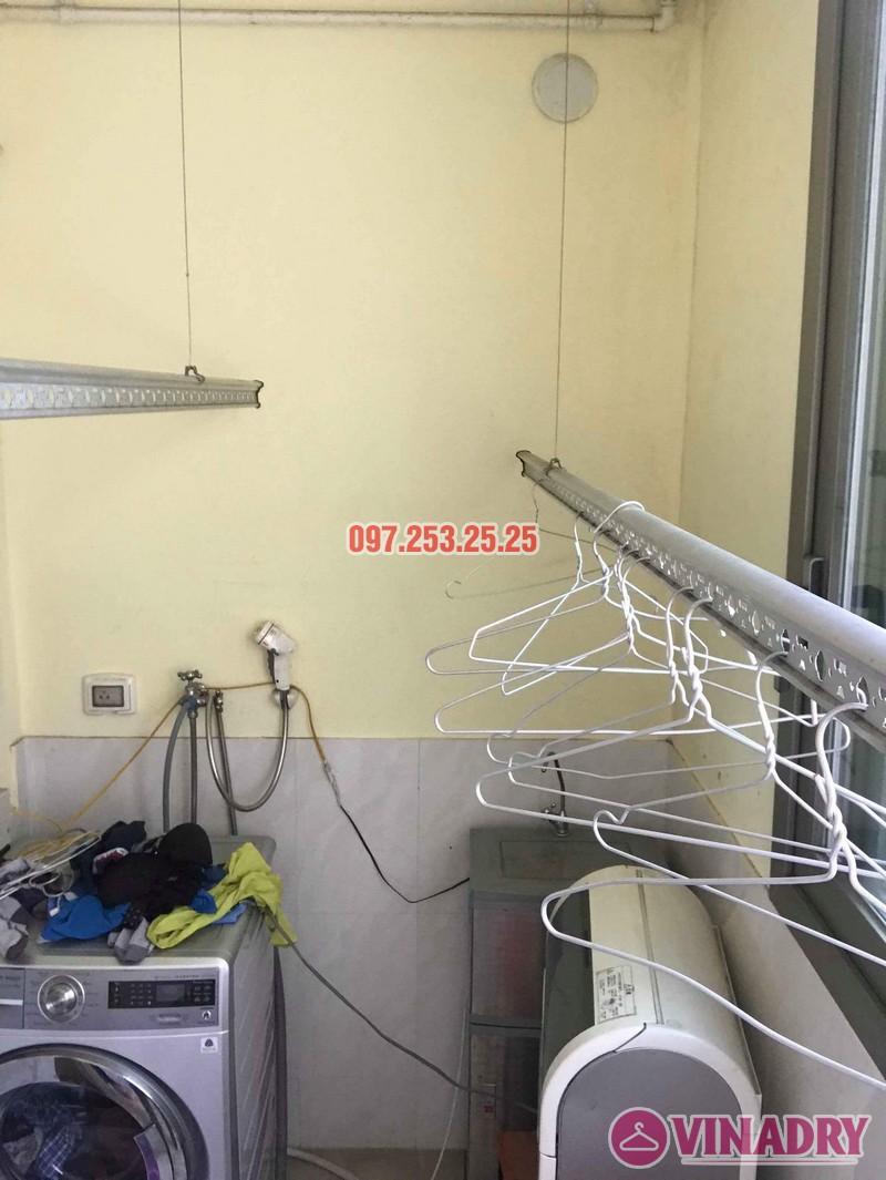 Sửa giàn phơi thông minh nhập khẩu nhà chị Hồng, CT5 Huyndai Hillstate, Hà Đông, Hà Nội - 02