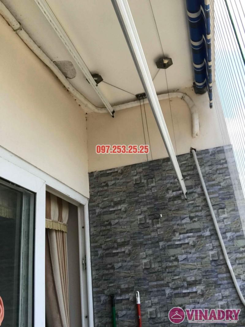 Sửa giàn phơi quần áo nhà anh Chính, chung cư CT6, KĐT Xa La, Hà Đông - 02