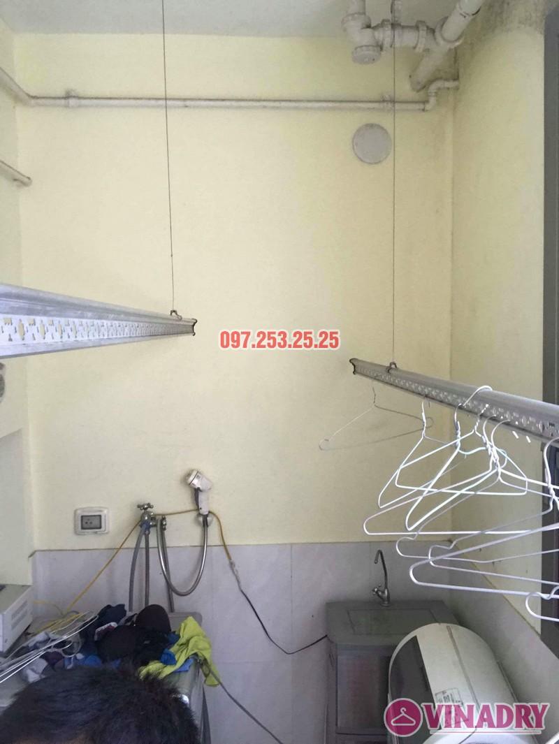 Sửa giàn phơi thông minh nhập khẩu nhà chị Hồng, CT5 Huyndai Hillstate, Hà Đông, Hà Nội - 03