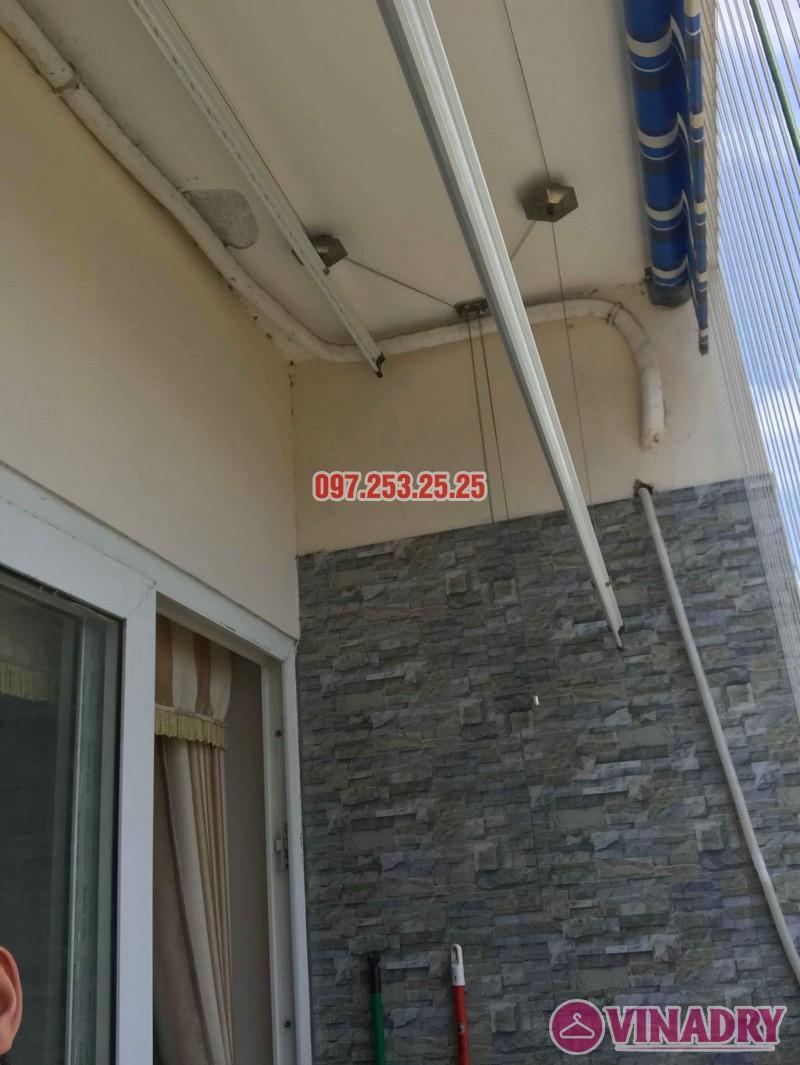 Sửa giàn phơi quần áo nhà anh Chính, chung cư CT6, KĐT Xa La, Hà Đông - 03