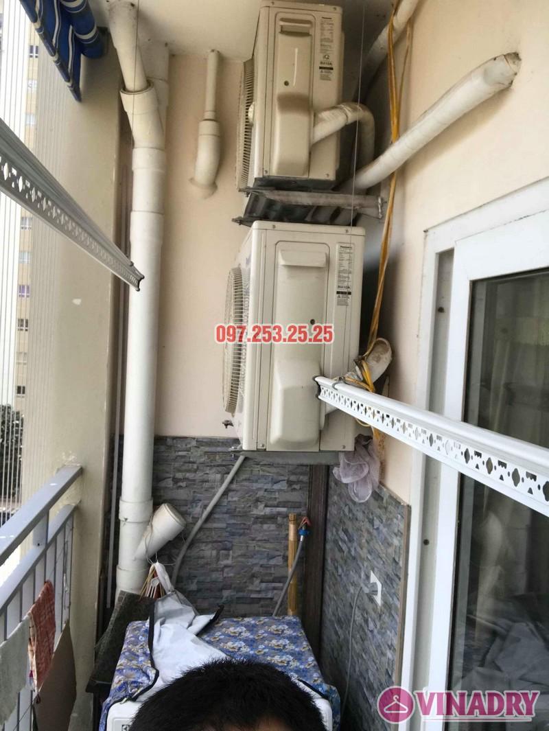 Sửa giàn phơi quần áo nhà anh Chính, chung cư CT6, KĐT Xa La, Hà Đông - 04