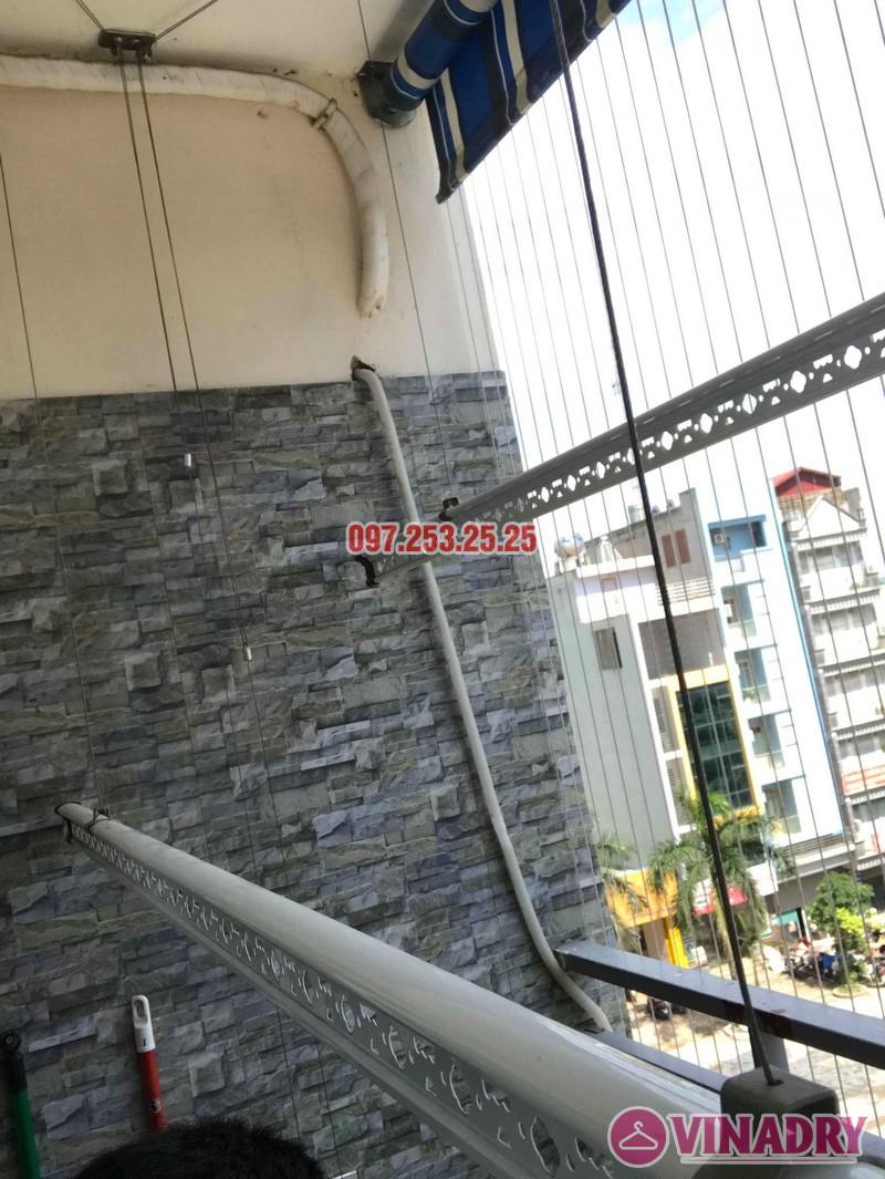 Sửa giàn phơi quần áo nhà anh Chính, chung cư CT6, KĐT Xa La, Hà Đông - 06