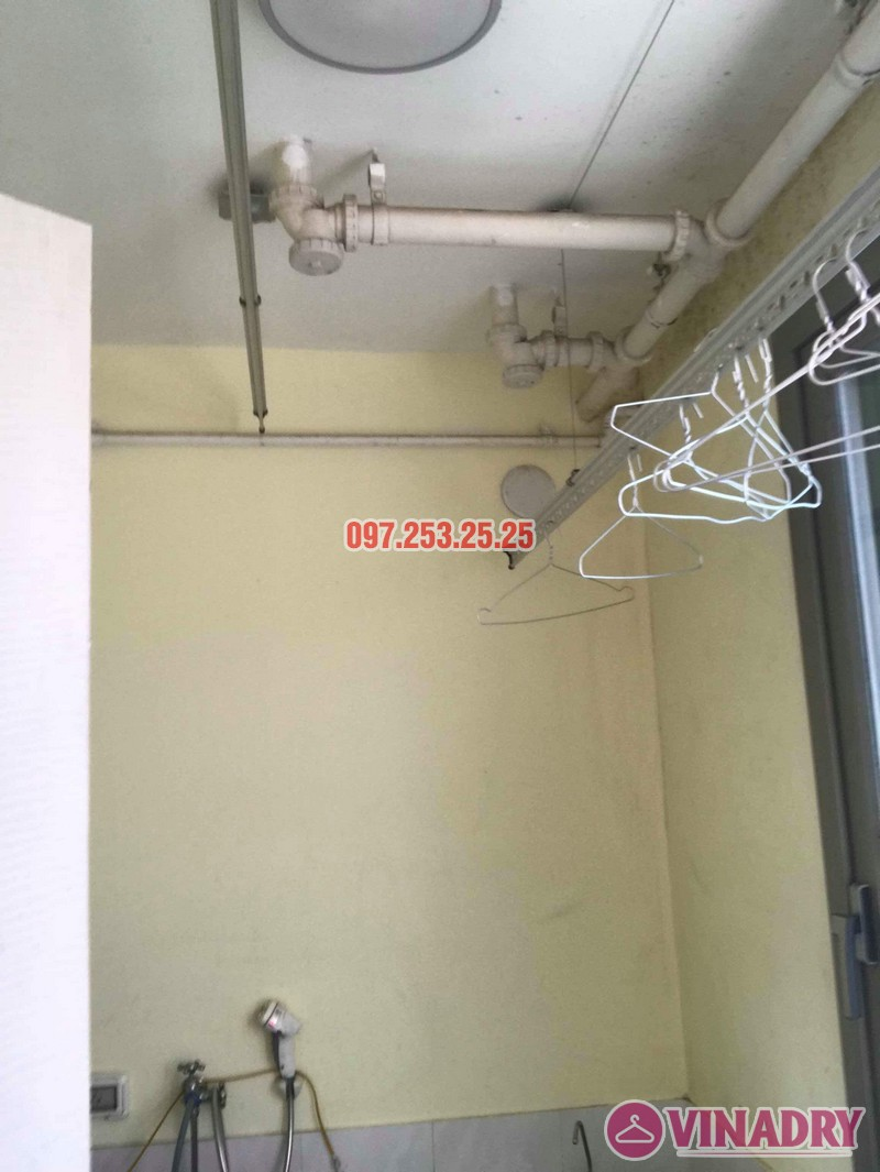 Sửa giàn phơi thông minh nhập khẩu nhà chị Hồng, CT5 Huyndai Hillstate, Hà Đông, Hà Nội - 07