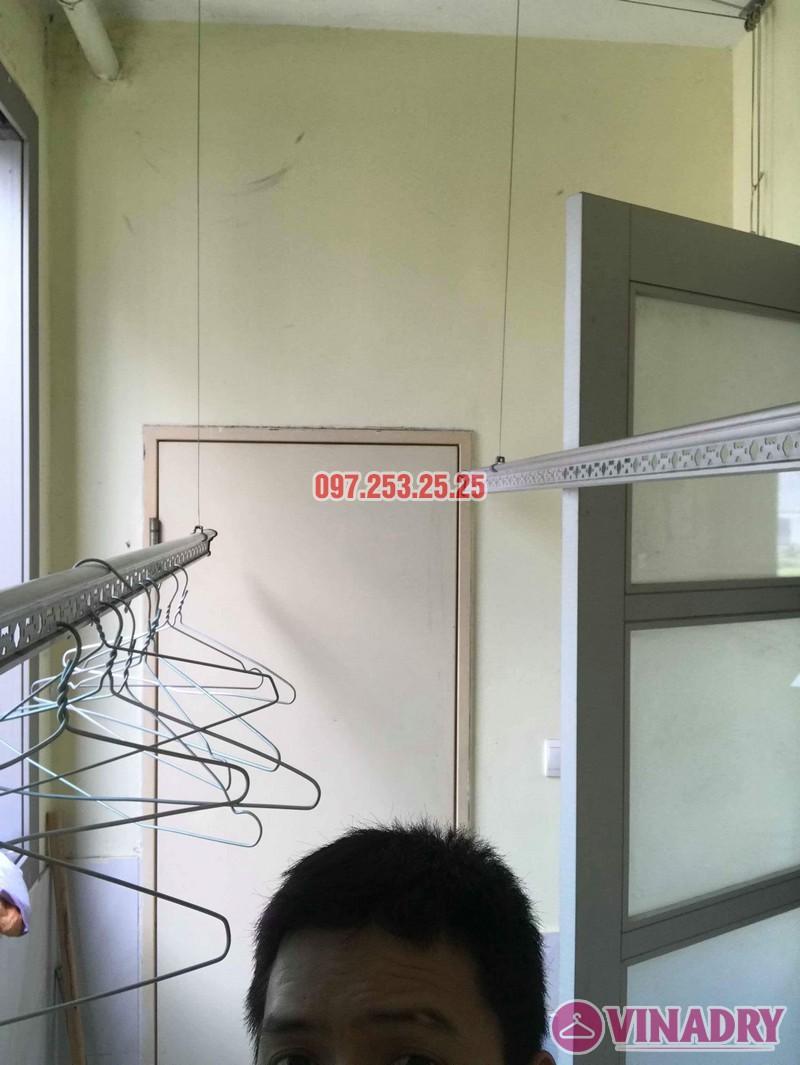 Sửa giàn phơi thông minh nhập khẩu nhà chị Hồng, CT5 Huyndai Hillstate, Hà Đông, Hà Nội - 08