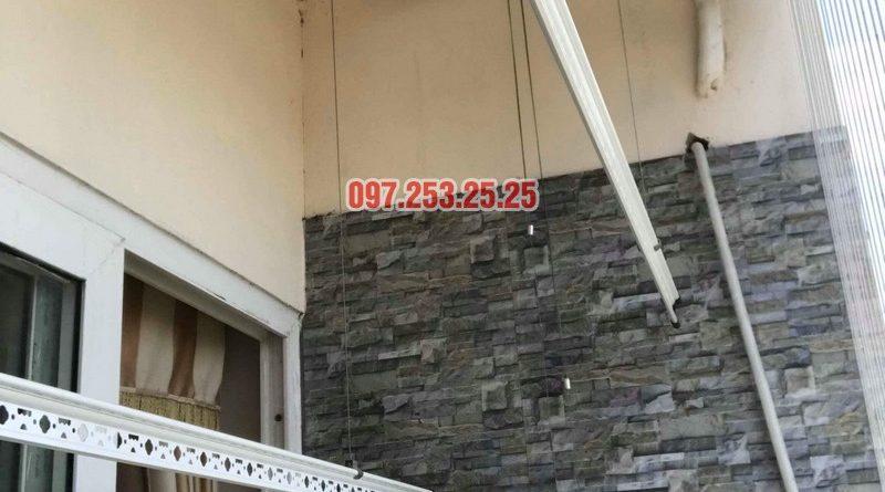 Sửa giàn phơi quần áo nhà anh Chính, chung cư CT6, KĐT Xa La, Hà Đông - 09