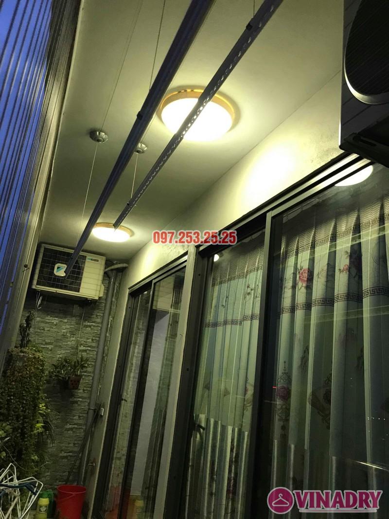 Sửa giàn phơi quần áo nhà anh Mạnh, chung cư CT2, KĐT Tây Nam Linh Đàm, Hoàng Mai, Hà Nội - 02