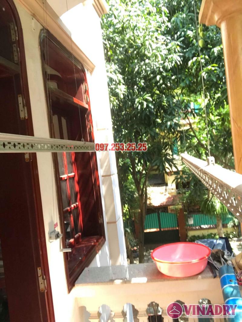 Sửa giàn phơi quần áo thông minh nhà chú Hạnh, số 31 biệt thự BT2 bán đảo Linh Đàm - 03