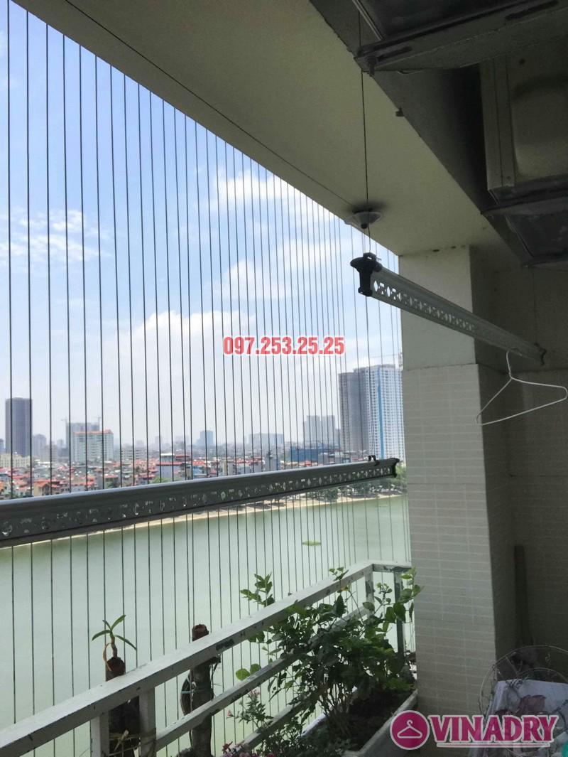 Sửa chữa giàn phơi thông minh nhà anh Mười, chung cư VP6 Linh Đàm, Hoàng Mai, Hà Nội - 04