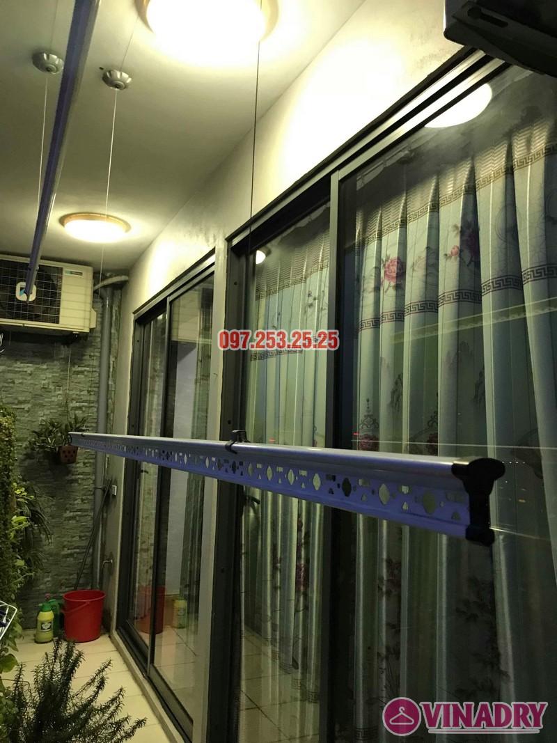 Sửa giàn phơi quần áo nhà anh Mạnh, chung cư CT2, KĐT Tây Nam Linh Đàm, Hoàng Mai, Hà Nội - 04